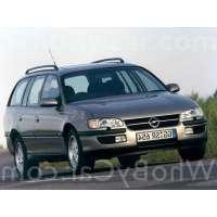 Поколение Opel Omega B 5 дв. универсал