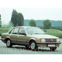 Поколение Opel Rekord E седан