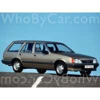 Поколение Opel Rekord E 5 дв. универсал