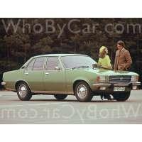 Поколение Opel Rekord D седан