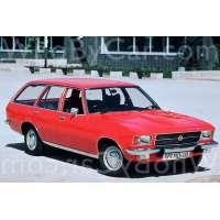Поколение Opel Rekord D 5 дв. универсал