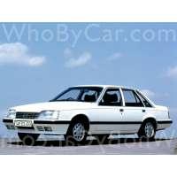 Поколение Opel Senator A