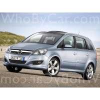Поколение Opel Zafira B