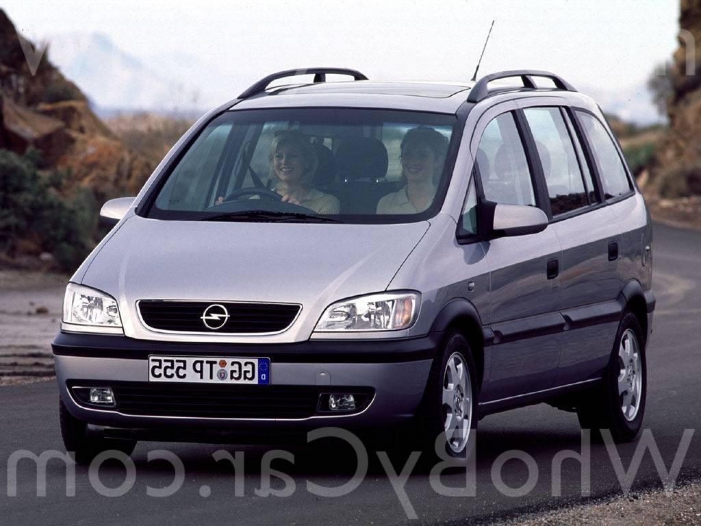 Opel zafira 20 mt механика минивен 130 лс