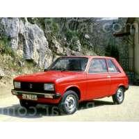 Поколение Peugeot 104 3 дв. хэтчбек