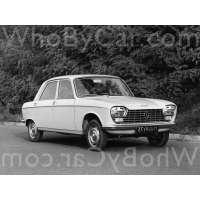 Поколение Peugeot 204 седан