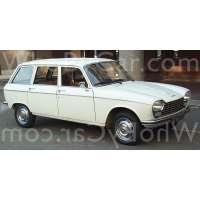 Поколение Peugeot 204 5 дв. универсал