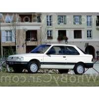 Поколение Peugeot 309 3 дв. хэтчбек