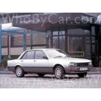 Поколение Peugeot 505 седан