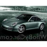 Поколение Porsche 911 VI (997) тарга рестайлинг