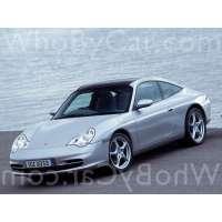 Поколение Porsche 911 V (996) тарга рестайлинг