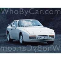 Поколение Porsche 944 купе