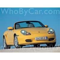 Поколение Porsche Boxster I (986) рестайлинг