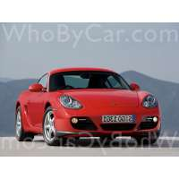 Поколение Porsche Cayman I (987) рестайлинг