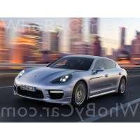 Поколение Porsche Panamera I рестайлинг