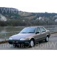 Поколение Renault 19 I седан