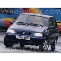 Поколение Rover 100 3 дв. хэтчбек