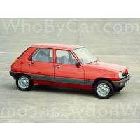 Поколение Renault 5 I 5 дв. хэтчбек