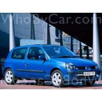 Поколение Renault Clio II 3 дв. хэтчбек рестайлинг