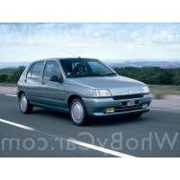 Поколение Renault Clio I 5 дв. хэтчбек
