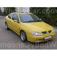 Поколение Renault Megane I купе рестайлинг