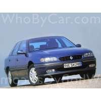 Поколение Renault Safrane I рестайлинг