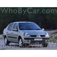 Поколение Renault Symbol I рестайлинг