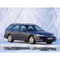 Поколение Saab 9-5 I 5 дв. универсал