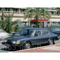 Поколение Saab 900 I седан