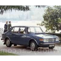 Поколение автомобиля Saab 99 седан