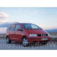 Поколение SEAT Alhambra I рестайлинг