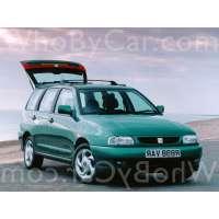 Поколение SEAT Cordoba I 5 дв. универсал