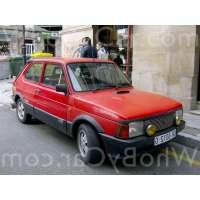 Поколение SEAT Fura 3 дв. хэтчбек