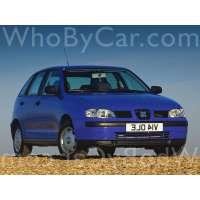 Поколение SEAT Ibiza II 5 дв. хэтчбек рестайлинг