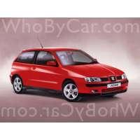 Поколение SEAT Ibiza II 3 дв. хэтчбек рестайлинг