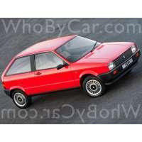 Поколение SEAT Ibiza I 3 дв. хэтчбек