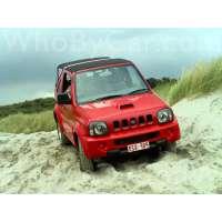 Поколение Suzuki Jimny III открытый внедорожник