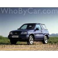 Поколение Suzuki Grand Vitara II открытый внедорожник