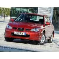 Поколение Subaru Impreza II 2 седан рестайлинг