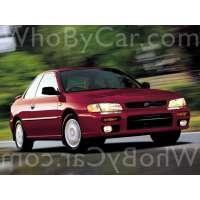 Поколение Subaru Impreza I купе