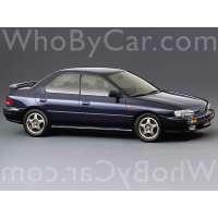 Поколение Subaru Impreza I седан