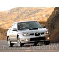 Поколение Subaru Impreza WRX II 2 седан рестайлинг