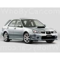 Поколение Subaru Impreza WRX II 2 5 дв. универсал рестайлинг
