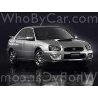 Поколение Subaru Impreza WRX II 1 седан рестайлинг