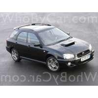 Поколение Subaru Impreza WRX II 1 5 дв. универсал рестайлинг