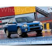 Поколение Subaru Impreza WRX II седан