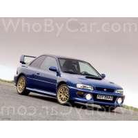 Поколение Subaru Impreza WRX I купе