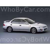 Поколение Subaru Impreza WRX I седан