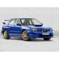 Поколение Subaru Impreza WRX STi II 2 рестайлинг