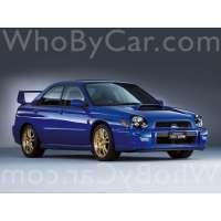 Поколение Subaru Impreza WRX STi II